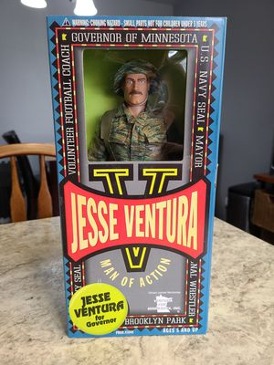 LTD 1999 Jesse Ventura 12in Fully Articulated US Navy Seal Man of Action Figure for Sale in Anaheim, CA
