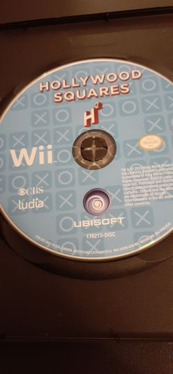 HOLLYWOOD SQUARES (Nintendo Wii + Wii U) for Sale in Lewisville,  TX