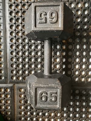 65lb Dumbbell (1) for Sale in Charlotte, NC