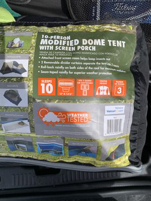 Ozark Trail 10 person tent for Sale in Douglas, MA