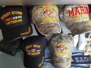 New United States Marine Corps Adjustable Base ball Caps one size fits most each price separately $12.99 each for Sale in Winters, TX