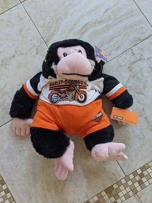 Harley davidson stuffed monkey for Sale in Chino Hills, CA