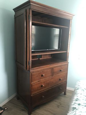 Solid Wood Armoire for Sale in Bradenton, FL