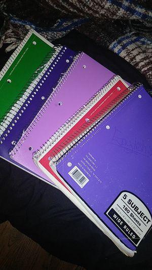 Notebooks for Sale in Pomona, CA