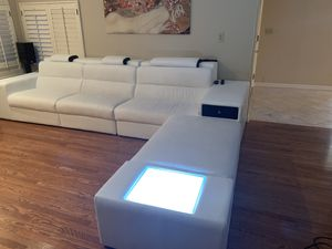 Modern real leather Sectional Sofa for Sale in Walnut Creek, CA