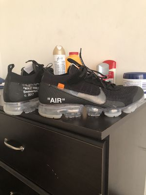 Off White Nike Vapormax Size 10 for Sale in Silver Spring, MD