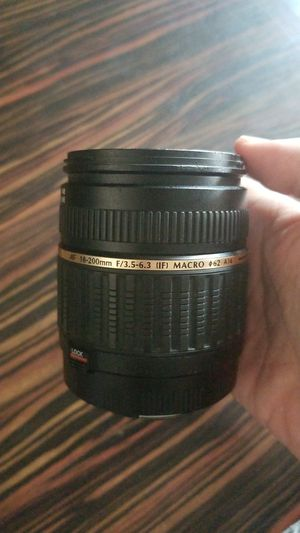 Tamron Canon camera lense AF 18-200mm F/3.5-6.3 (IF) macro for Sale in Waianae, HI
