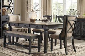 Tyler Creek Black/Gray Dining Room Set | D736 for Sale in Houston, TX
