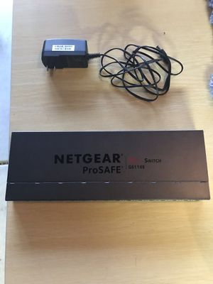Netgear ProSafe 16-port managed Network Switch Hub for Sale in Claremont, CA