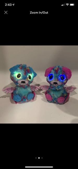 Toys r us exclusive twin hatchimals for Sale in Covington, LA