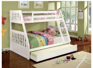 TWIN OVER FULL BUNK BED for Sale in Alexandria, VA