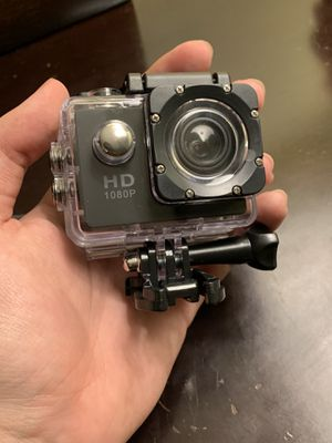 HD Action Camera with all Mounts and Waterproof Material for Sale in Escondido, CA