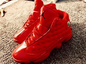 All red Jordan Retro 13s for Sale in Evansville, IN