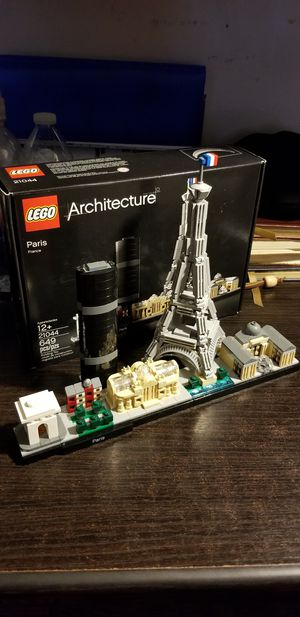 Lego architecture paris for Sale in Downey, CA