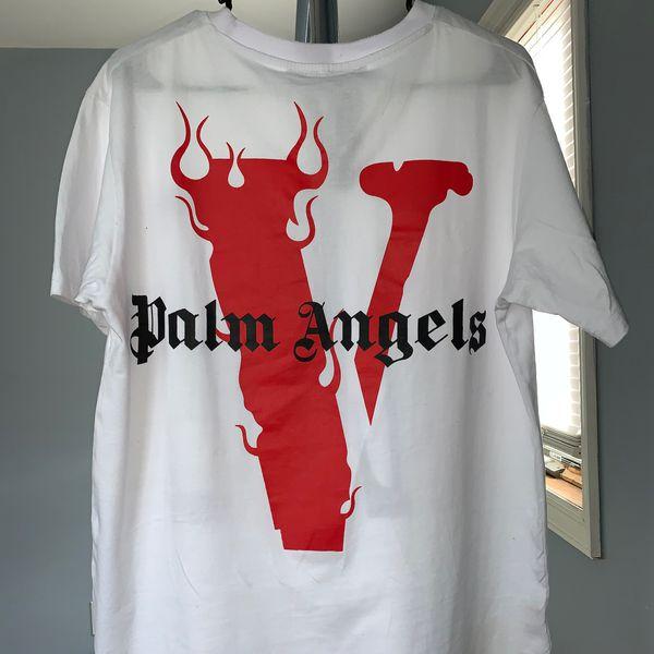 Vlone x palms angels