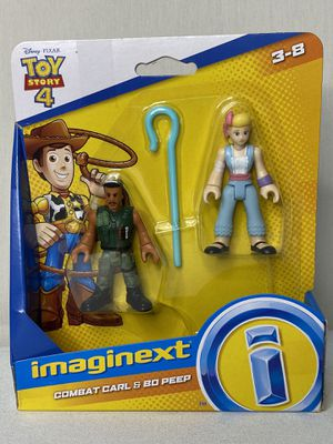 Imaginext combat Carl and Bo Peep for Sale in Fresno, CA