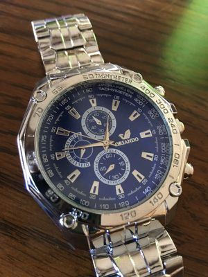 Stainless Steel Waterproof Watch for Sale in Montebello, CA