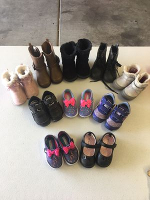 Toddler Shoes - Size 3 (Gently used) for Sale in Las Vegas, NV