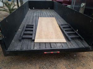 """2006 16' X 6' 6"""" double axle trailer for Sale in Phoenix, AZ"""