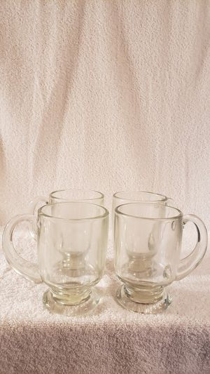 Anchor Hocking Cafe Mugs-set of 4 for Sale in Palmyra, VA
