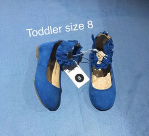 New Flats Toddler shoes size 8 (Nuevos ). for Sale in Palmdale, CA