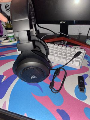 Corsair HS70 Pro Wireless Gaming Headset for Sale in Victorville, CA