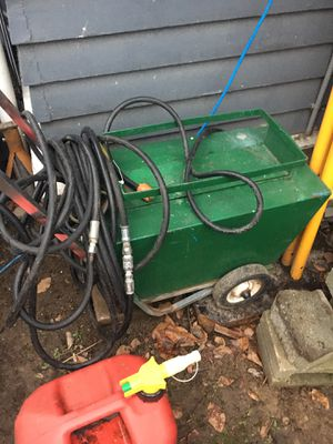 power washer electric vintage with Hy-Pro Hypro Twin-Plunger Pressure Washer Pump - with wand and hoses for Sale in Seattle, WA