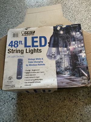 Brand New Patio lights for Sale in Laguna Niguel, CA