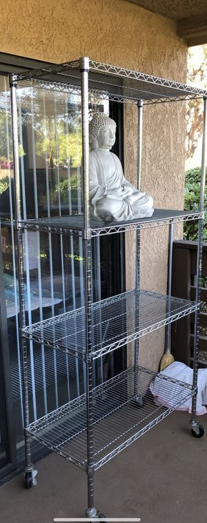 Large Metal Baker's Rack with Casters for Sale in San Diego, CA