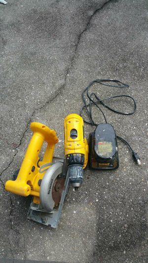 Dewalt Battery operated drill, skillsaw & screwdriver for Sale in Gulf Shores, AL