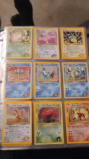 Pokemon cards. Selling individually for Sale in Brentwood, MD