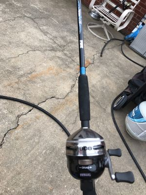 Zebco 808 fishing rod and reel for Sale in Randleman, NC