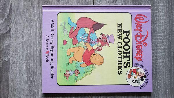 Lot of 6 Walt Disney Fun-to-Read Library Book Vol 1,5,6,7,9,12 Vintage Hardcover