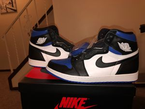 Jordan 1 Royal Toe for Sale in Doylestown, OH