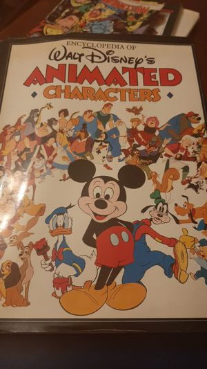 Encyclopedia of Disneys animated characters for Sale in Federal Way, WA