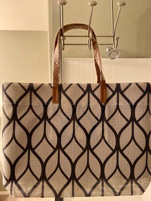 White Tote Bag - Brand new for Sale in Henderson, NV