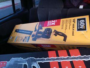 DeWalt flexvolt chainsaw for Sale in Antioch, CA
