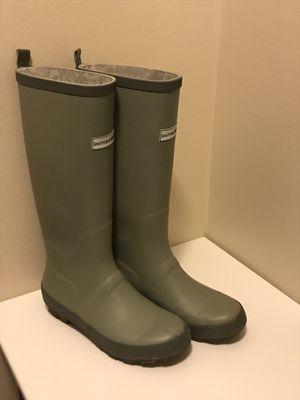 Smith&Hawken rain boots gray size 7 for Sale in Naperville, IL