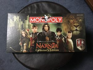 Chronicles of Narnia Monopoly Collectors Edition for Sale in Gahanna, OH