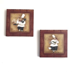 Print On Canvas Kitchen Wall Decor (Set of 2) for Sale in Centre Hall, PA