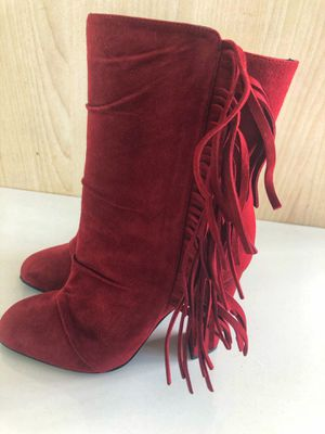 Giuseppe Zanotti Fringe Suede Heeled Booties for Sale in Miami, FL