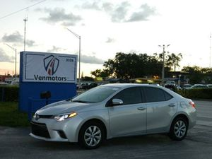 2016 Toyota Corolla for Sale in Hollywood, FL