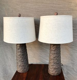 Pair of Ashley Furniture Table Lamps for Sale in La Habra, CA