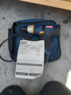 Ryobi 3/8 inch drill and clutchdriver for Sale in South Gate, CA