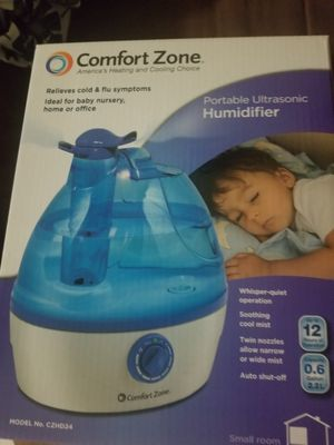 Comfort Zone : Portable Ultrasonic Humidifier for Sale in Lake Worth, FL