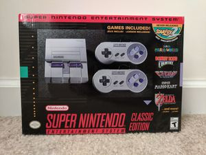 Official Super Nintendo Classic Mini (SNES) 300+ Games for Sale in Wadsworth, OH
