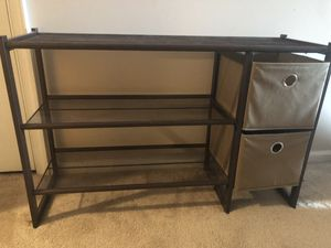 Shoe rack with drawers for Sale in Fairfax, VA