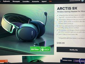 SteelSeries Arctis 9X gaming headset for Sale in Brooklyn, NY