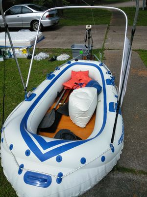 Sea eagle 8 inflatable boat for Sale in Houston, TX