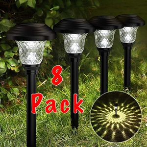 "Murrieta (LOS ALAMOS & HANC0CK) PICK UP ONLY ‼️BRAND NEW‼️BRAND NEW‼️ ""GLASS"" Solar LED Lights Outdoor, (8 Pack) Super Bright Solar Pathway Lights, B for Sale in Murrieta, CA"